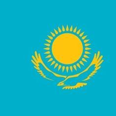 Flag of Kazakhstan Stickers