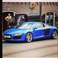 Indeed the perfect eye candy. Audi R8 Blue, Audi Supercar, Perfect Eyes, Blue Wallpapers, Dream Cars, Super Cars, Design, Eye Candy, Colour