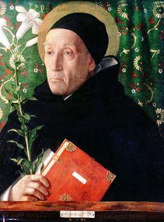 Retrato de Fra Theodoro da Urbino, óleo sobre tela por Giovanni Bellini (1430-1516, Italy)