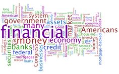 Word Clouds on Financial Crisis