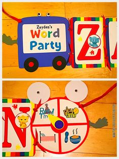 Word Party Birthday Banner!!! Message on Etsy.com at shop Portianicolecreation to order. #wordparty #wordpartydecorations #wordpartybirthdayparty #wordpartyideas #wordpartybirthday #wordpartybirthdayideas #wordpartybanner #wordpartybirthdaybanner