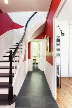 Idée couleur mur pour délimiter et structurer espace - Côté Maison