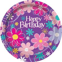 Blossom Birthday Dinner Plates, 8ct Unique https://smile.amazon.com/dp/B007G8RQI8/ref=cm_sw_r_pi_dp_x_cQPlybBK5WK6J