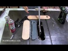 1 of 5 how to make your own table saw fence guide rails the 1 of 5 how to make your own table saw fence guide rails the verysupercool t square fence woodworking pinterest fences squares and woodworking greentooth Choice Image