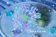 cotton Candy starブローチ   ハンドメイドマーケット minne