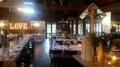 This set up is gorgeous.  Everything i want for my own wedding. At the beautiful  Circa 1876  restaurant  in Pokolbin Hunter Valley NSW Aus