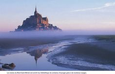 GAÏA MERVEILLE -> Monde NATUREL -> EUROPE -> FRANCE -> Le Mont-Saint-Michel <- Le Mont St Michel, Europe, Beautiful Castles, Belle Photo, Photos, Pictures, Saints, Images, Inspiring Photography