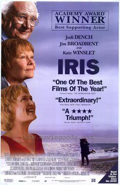 True story of the lifelong romance between novelist Iris Murdoch and her husband...beautiful and tragic...Hugh Bonneville is also outstanding