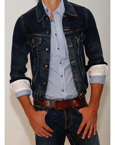 The GQ Spring 2013 Trend Report: Spring Fashion for Men    I'm excited that jean jackets are back.