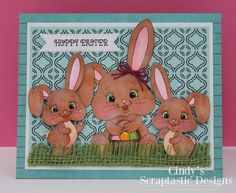 PK-192 Somebunny Special: Peachy Keen Stamps | Home of the original clear, peach-tinted, high-quality whimsical face stamps.