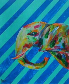 COOL画「ゾウ」[一平] | ART-Meter