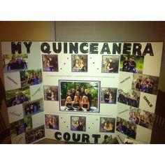 Quinceanera Court