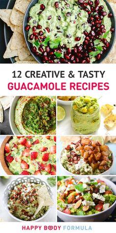 12 Unique & Creative Guacamole Recipes