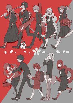 Kagerou Project by Shidu Manga Anime, Anime Art, Kuzu No Honkai, K Project, Kagerou Project, Kaichou Wa Maid Sama, Vocaloid, Anime Love, New Art