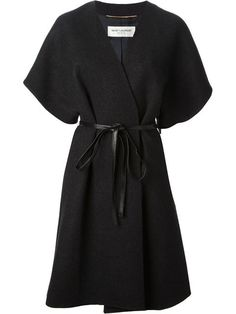 Shop Saint Laurent belted kimono coat in Suit from the world's best independent boutiques at farfetch.com. Over 1000 designers from 60 boutiques in one website.