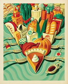 21 Exquisite Art Deco Style Illustrations from Modern Masters