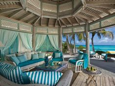 Yes, paradise does exist...the gazebo is one of my favorite spots at Bellamare