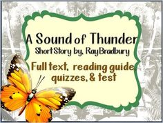 Ray Bradbury On Pinterest The Veldt Sound Of Thunder border=