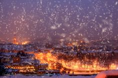 Cluj Napoca/Kolozsvár My Town, Romania, Wonders Of The World, Places To See, Paris Skyline, Dolores Park, Country, Winter, Photography