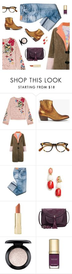 """""""Totally Doing a Happy Dance - Thank You!"""" by sproetje ❤ liked on Polyvore featuring Alice + Olivia, Saks Potts, Oliver Peoples, Oscar de la Renta, Axiology, Patricia Nash, MAC Cosmetics, Dolce&Gabbana, ootd and WhatToWear"""