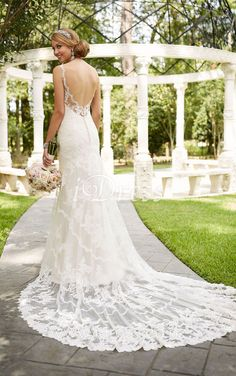 Wedding Dresses Backless Bridal Style 6247 Antique Inspired Wedding Dress by Stella York.Wedding Dresses Backless Bridal Style 6247 Antique Inspired Wedding Dress by Stella York Size 12 Wedding Dress, Long Wedding Dresses, Designer Wedding Dresses, Bridal Dresses, Wedding Gowns, Bridesmaid Dresses, 2017 Wedding, Wedding Trends, Party Dresses