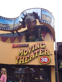 Ripley's Moving Theater- Gatlinburg, TN  I & mom first time 2005 & free in. So much fun ride with 3D.