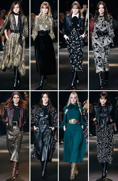 Top hits no desfile glam rock da Saint Laurent!
