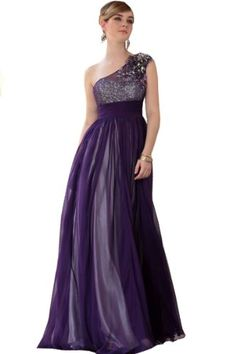 61% Off was $487.00, now is $189.99! Vogue Bridal Women's One Shoulder with Sequins Tulle Dress