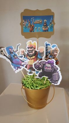 Clash Royale Centerpiece