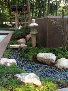Asian garden- Crow Trammel Museum Dallas Texas