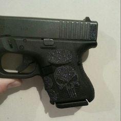 Glock 26 punisher tallon grips