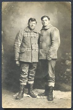 Union-Made: Circa 1905-1918 Lumberjacks SXPC Real Photo Postcard