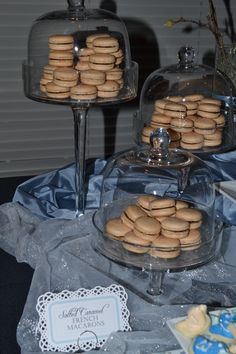 candy buffet baby wedding shower birthday party  Salted Caramel Macarons