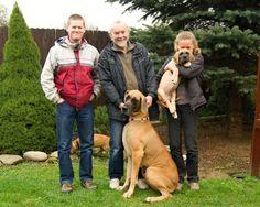 Brandon with new family - Chladkovi