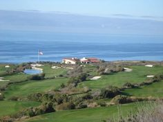 Trump National Golf Course in Rancho Palos Verdes--golf with a view