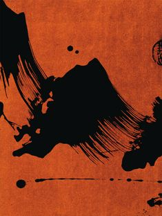 Fabienne Verdier - L'Art de la Calligraphie Monumentale - Monumental Calligraphy - Tabernacle - 2006 Japanese Painting, Chinese Painting, Japanese Art, Sumi E Painting, Large Painting, Japanese Calligraphy, Calligraphy Art, Art Zen, Modern Art