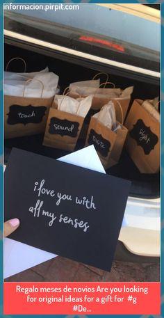 5 Senses Gift For Boyfriend, Cute Boyfriend Gifts, Bf Gifts, Boyfriend Anniversary Gifts, Boyfriend Ideas, Creative Boyfriend Gifts, Special Gift For Boyfriend, 1 Year Anniversary Gift Ideas For Boyfriend, Craft Gifts