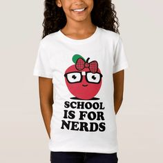 A collection of #funny and cheerful #gifts for girls. You can find here backpacks, pencils and cases, notebooks, lunch boxes and more. #school #notebook #binder #tshirt