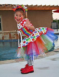 Tutu Clown Costume