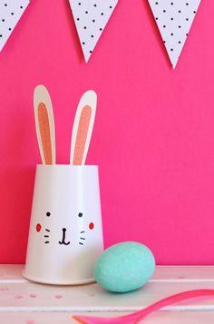 giochi di carta: Easter little rabbit DIY