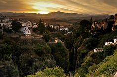 Sunup at Ronda by Sunil Shinde, via 500px