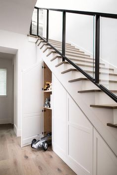 Under staircase cabinets