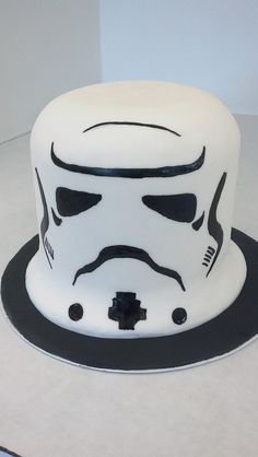 Perfect for every TK's Birthday Stormtrooper Star Wars Cake