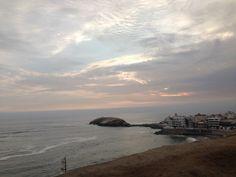 La Isla... ya terminando el Sunset! Punta Hermosa!