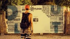 Site art at Outlook Festival Outlook Festival, Andy C, Author, Digital, Celebrities, Art, Art Background, Celebs, Kunst