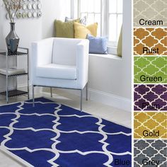 nuLOOM Handmade Luna Moroccan Trellis Rug (6' x 9') - Overstock™ Shopping - Great Deals on Nuloom 5x8 - 6x9 Rugs