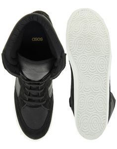 asos wedge trainers