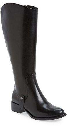 Over 20 Boots for Girls with Big Calfs - Via Spiga 'Carol' Riding Boot (Wide Calf) (Women)