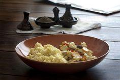 Espía en la cocina: Cous cous con pollo al Ras el Hanout