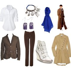"""""""The Tenth Doctor Casual"""" by soundofinevitability on Polyvore"""